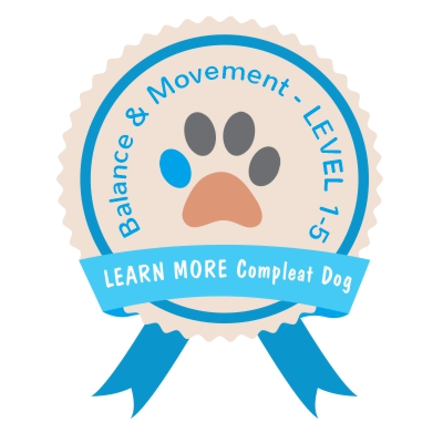 Learn More Compleat Dog BALANCE & MOVEMENT