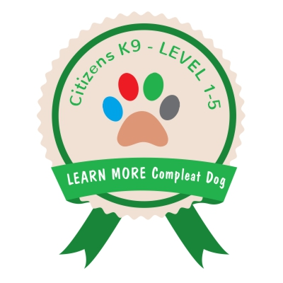 Learn More Compleat Dog CITIZENS K9