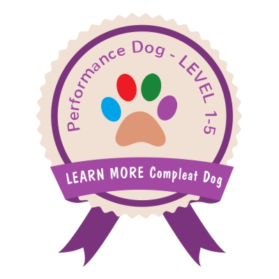 Learn More Compleat Dog PERFORMANCE DOG
